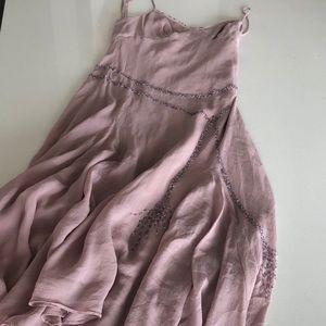 BCBG Maxazria Silk Midi Dress